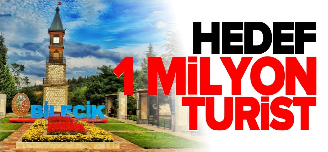HEDEF 1 MİLYON TURİST